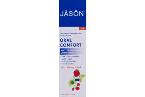 Jason Oral Comfort Antiplaque & Smoothing Very Berry Mint
