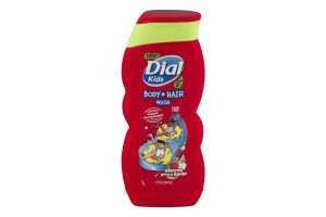 Dial Kids Body + Hair Wash Bursting Apple Rapids