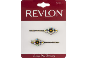Revlon Couture Hair Accessory Slides - 2 CT