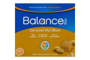 Balance Bar Caramel Nut Blast - 6 CT