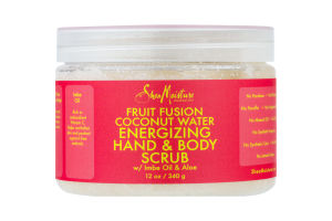 Shea Moisture Fruit Fusion Coconut Water Energizing Hand & Body Scrub