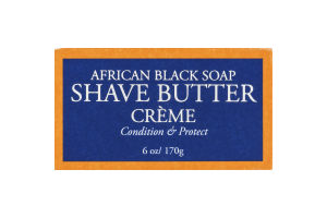 Shea Moisture African Black Soap Shave Butter Creme
