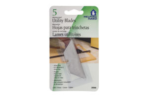 Helping Hand Replacement Utility Blades - 5 CT