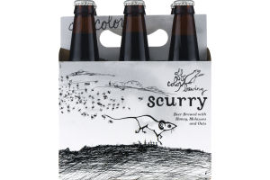 Off Color Brewing Scurry Beer Brewed with Honey, Molasses and Oats - 6 PK