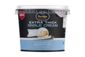 The Brooklyn Creamery Company Extra Thick Single Cream