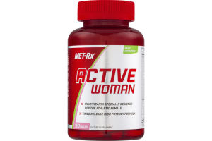 MET-Rx Active Woman Dietary Supplement Tablets - 90 CT
