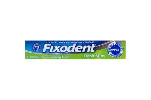 Fixodent Denture Adhesive Cream Fresh Mint
