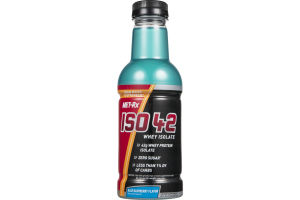 MET-Rx ISO 42 Whey Isolate Protein Drink Blue Raspberry