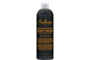 Shea Moisture Body Wash African Black Soap