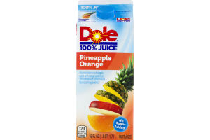 Dole 100% Juice Orange Pineapple