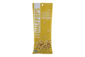 Halfpops Curiously Crunchy Popcorn Caramel & Sea Salt
