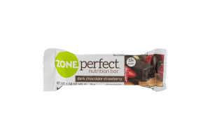 Zone Perfect Nutrition Bar Dark Chocolate Strawberry