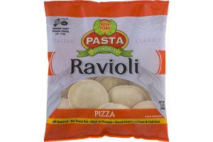 New York Pasta Authority Ravioli Pizza