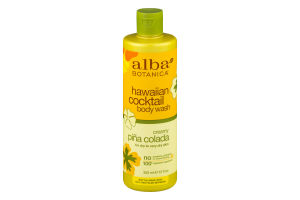 Alba Botanica Hawaiian Cocktail Body Wash Creamy Pina Colada