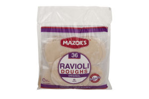 Mazor's Ravioli Doughs Original - 36 CT