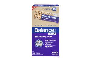 Balance Bar Bare Nutrition Bars Blueberry Acai - 15 CT