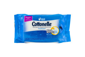 Cottonelle Flushable Cleansing Cloths Fresh Care - 42 CT