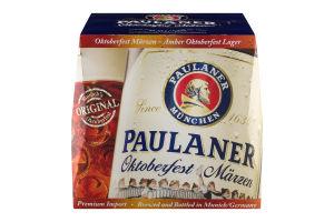 Paulaner Oktoberfest Marzen Amber Lager - 12 PK