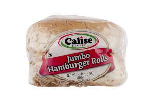 Calise Bakery Jumbo Hamburger Rolls - 6 CT