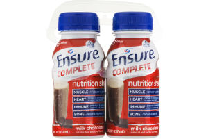 Ensure Complete Nutrition Shake Milk Chocolate - 4 CT