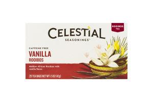 Celestial Tea Vanilla Rooibos - 20 CT