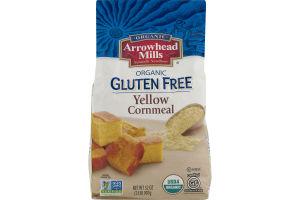 Arrowhead Mills Organic Gluten Free Yellow Cornmeal