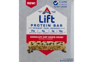 Atkins Lift Protein Bars Chocolate Chip Cookie Dough - 9 CT