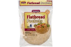 Kangaroo Flatbread Pockets Whole Wheat