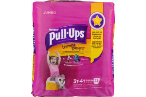 Huggies Pull-Ups Learning Designs Disney Training Pants Size 3T-4T - 23 CT