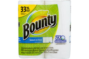Bounty Select-A-Size Paper Towels - 2 CT