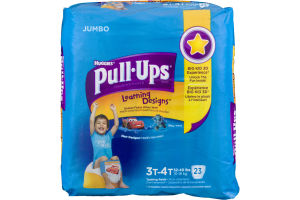 Huggies Pull-Ups Learning Designs Training Pants Size 3T-4T - 23 CT