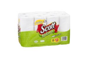 Scott Towels Naturals Choose-A-Sheet Mega Rolls - 8 CT