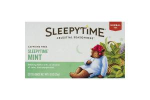 Celestial Seasonings Sleepytime Tea Sleepytime Mint - 20 CT