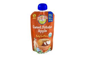 Earth's Best Organic Stage 2 Sweet Potato Apple Baby Food Puree