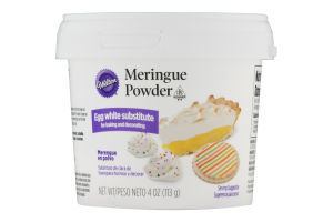 Wilton Meringue Powder Egg White Substitute