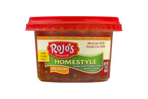 Rojo's Homestyle Mexican Style Fresh Cut Salsa Medium