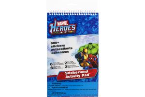 Marvel Heroes Stickerland Activity Pad - 600 CT