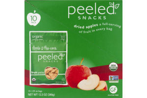 Peeled Snacks Apple-2-The-Core Dried Apples - 10 CT