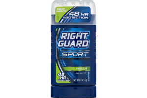 Right Guard Sport Deodorant Fresh 48 Hour Protection