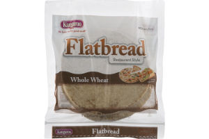 Kangaroo Flatbread Whole Wheat - 5 CT