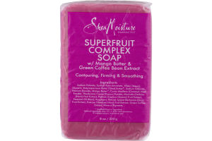 SheaMoisture Superfruit Complex Soap w/ Mango Butter & Green Coffee Bean Extract