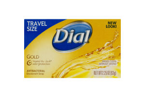Dial Antibacterial Deodorant Soap Travel Size