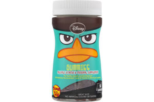 Disney Gummies Multiple Vitamin & Mineral Supplement Phineas and Ferb - 60 CT