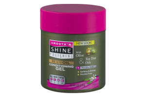 Smooth 'N Shine Polishing Reviv Oil Conditioning Gel With Olive & Tea Tree Oils Flexible Hold
