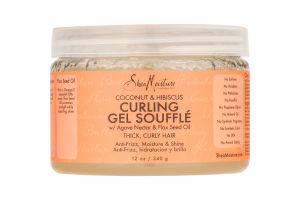 Shea Moisture Curling Gel Souffle Coconut & Hibiscus