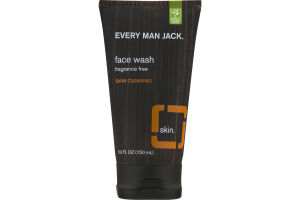 Every Man Jack Face Wash Fragrance Free Skin Clearing