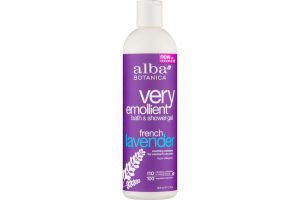 Alba Botanica Very Emollient Bath & Shower Gel French Lavender