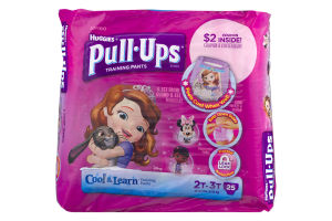 Huggies Pull-Ups Cool & Learn Training Pants 2T-3T - 25 CT