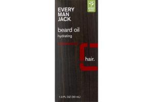 Every Man Jack Hydrating Beard Oil Cedarwood