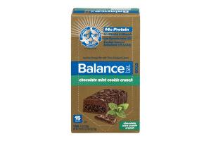 Balance Bar Gold Nutrition Energy Bar Chocolate Mint Cookie Crunch - 15 CT